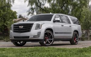 Cadillac Escalade on Forgiato Wheels (N-2)