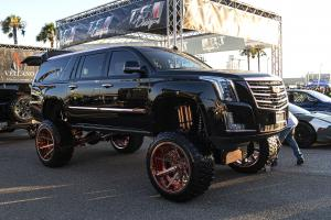 Cadillac Escalade ESV on Forgiato Wheels (Gambe-1) 2019 года