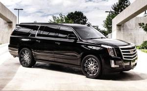 2019 Cadillac Escalade ESV on Forgiato Wheels (TEC 3.6)