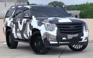 2019 Cadillac Escalade on Forgiato Wheels (Andata)