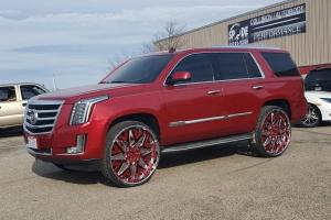 2019 Cadillac Escalade on Forgiato Wheels (Attivo-L)