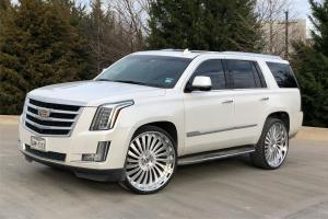 Cadillac Escalade on Forgiato Wheels (Autonomo-L) 2019 года