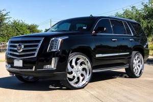 2019 Cadillac Escalade on Forgiato Wheels (Avviato-B)