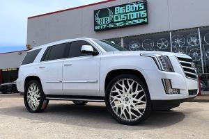 Cadillac Escalade on Forgiato Wheels (Blocco) 2019 года