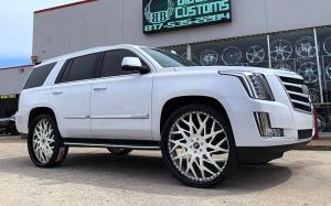 2019 Cadillac Escalade on Forgiato Wheels (Blocco)