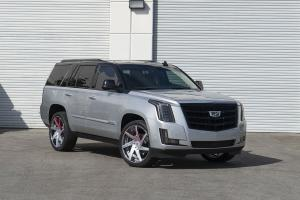 2019 Cadillac Escalade on Forgiato Wheels (N-2)