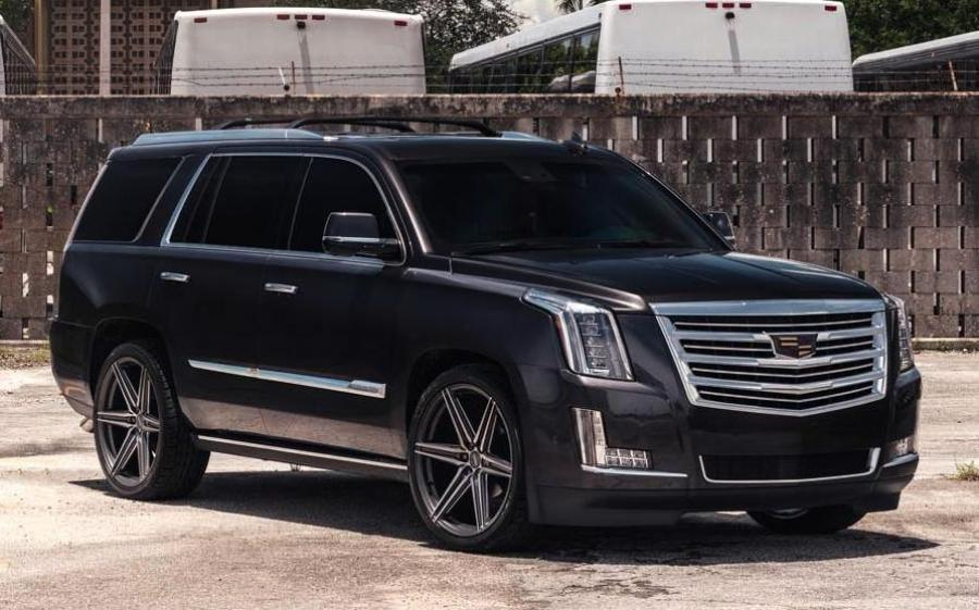 Cadillac Escalade on Vossen Wheels (HF6-2) '2019