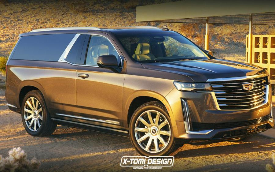 Cadillac Escalade ShootingBrake by X-Tomi Design '2020