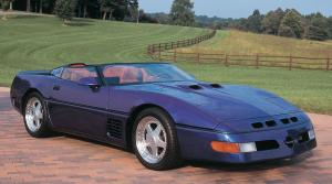 1990 Callaway C4 Twin Turbo Corvette Speedster