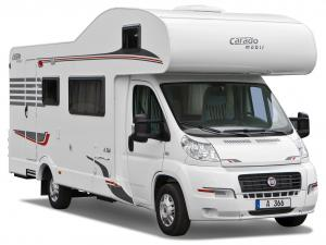 Carado A 366 based on Fiat Ducato '2009