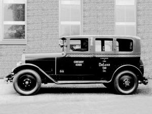 Checker Model G6 Limousine Taxi 1928 года