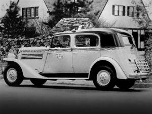 1935 Checker Model Y Taxi Cab