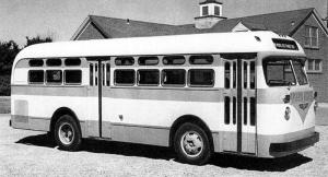 Checker 328 Transit Bus '1950