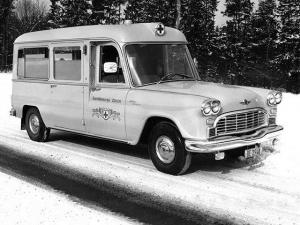 1963 Checker Marathon Ambulance