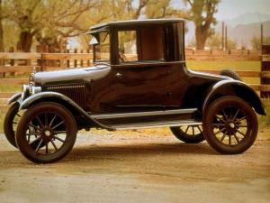 1923 Chevrolet Copper Cooled Utility Coupe