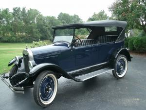 Chevrolet Series K Superior Touring 1925 года