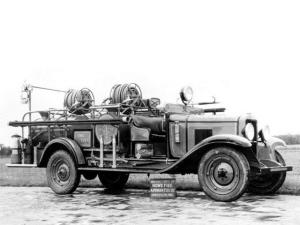 Chevrolet International Firetruck by Howe 1929 года