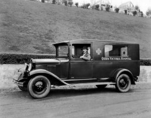 1930 Chevrolet Universal Ambulance by Bowers Engineering Works