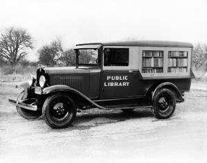 Chevrolet Independence Panel Truck Bookmobile Conversion 1931 года