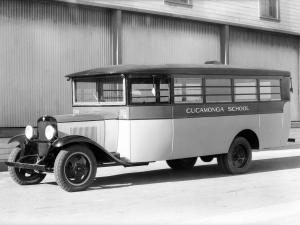1931 Chevrolet Model MD School Bus by Crown Motor Carriage Co