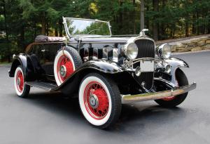 Chevrolet BA Confederate 2-4-Passenger Sports Roadster 1932 года