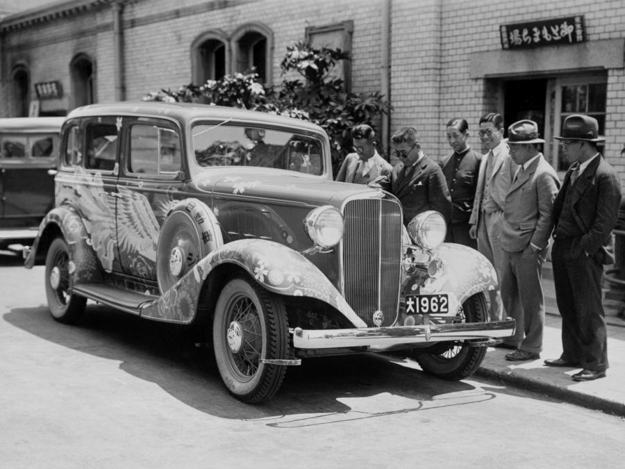 1933 Chevrolet Master Eagle 4-Door Sedan (JP)