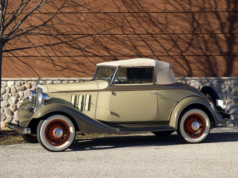 1933 Chevrolet Master Eagle Convertible