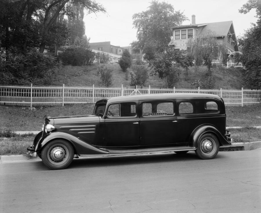 1934 Chevrolet Master Hearse by William Pfeiffer Auto & Carriage Works