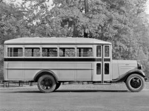 Chevrolet Model RD Bus by Wayne 1936 года