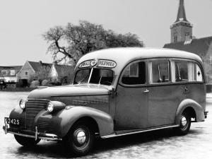 Chevrolet Master Ambulance 1939 года (NL)