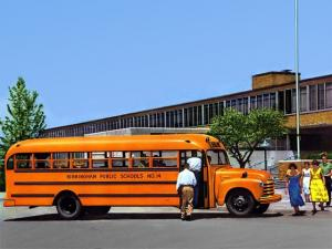 1953 Chevrolet 6700 School Bus by Superior