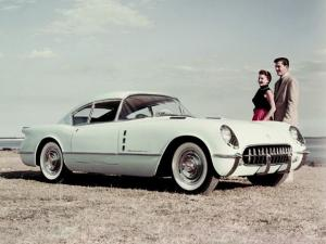 1954 Chevrolet Corvette Corvair Concept Car