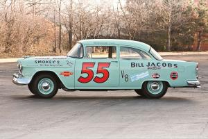 Chevrolet 150 Turbo Fire 162 HP 2-Door Sedan Race Car 1955 года
