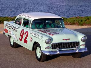 Chevrolet 150 Turbo Fire 195 HP 2-Door Sedan Race Car 1955 года