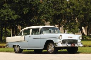 Chevrolet Bel Air 4-Door Sedan 1955 года