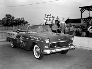 Chevrolet Bel Air Convertible Indy 500 Pace Car 1955 года