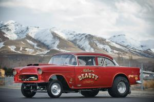 1955 Chevrolet Miller Beauty F Gas Drag Racing Car
