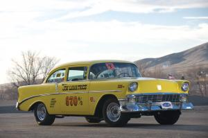 Chevrolet 210 2-Door H-Stock Drag Racing Car 1956 года