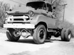 Chevrolet 4100 4x4 Chassis Cab by Coleman 1956 года