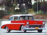 Chevrolet Bel Air 2-Door Sedan 1956 года