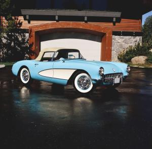Chevrolet Corvette Roadster 1956 года