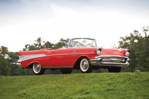 1957 Chevrolet Bel Air Fuel Injected Convertible