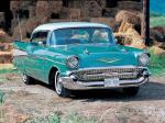 Chevrolet Bel Air Fuel Injection Sport Coupe 1957 года