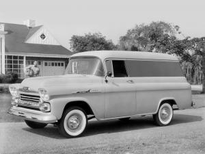 1958 Chevrolet Apache 31 Panel Van