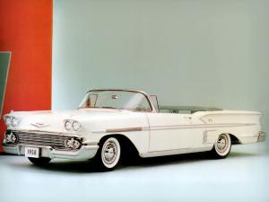 1958 Chevrolet Bel Air Impala Convertible