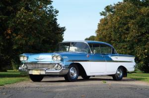Chevrolet Bel Air Sport Sedan 1958 года