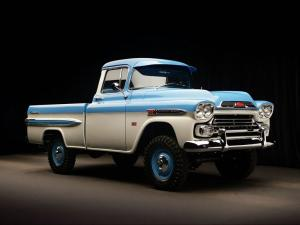 1959 Chevrolet Apache 31 Deluxe Fleetside by NAPCO