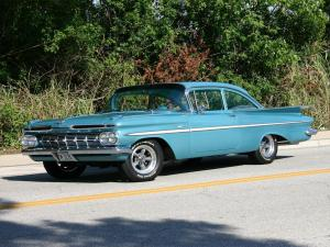 Chevrolet Bel Air 2-Door Sedan 1959 года