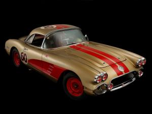 Chevrolet Corvette JRG Special Competition Coupe 1960 года