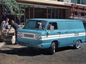 Chevrolet Corvair 95 Van 1961 года